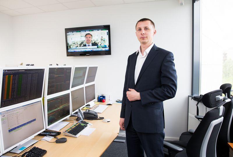 Arvydas Jacikevičius, AB SEB bankas Finansų rinkų departamento Finansų maklerio skyriaus vadovas. Juditos Grigelytės (VŽ) nuotr.