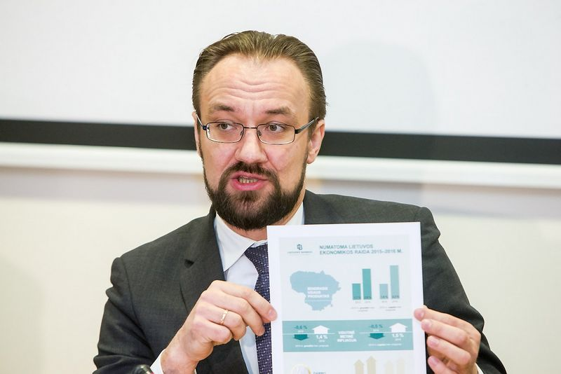 Gediminas Šimkus, LB Ekonomikos ir finansinio stabilumo tarnybos direktorius. Juditos Grigelytės (VŽ) nuotr.