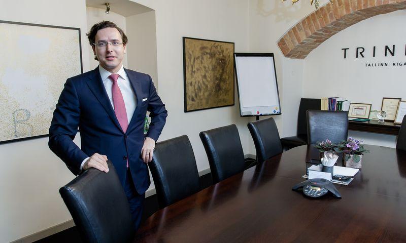 """Linas Sabaliauskas, advokatų profesinės bendrijos """"TRINITI LT"""" advokatas, vadovaujantysis partneris.  Vladimiro Ivanovo (VŽ) nuotr."""