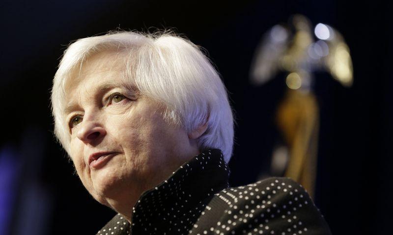 "Janet Yellen, FED vadovė. Joshua Robertso, (""Reuters"") nuotr."