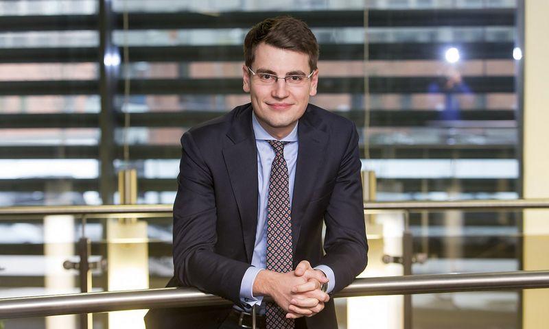 """Rokas Grajauskas, """"Danske Bank"""" vyriausiasis Baltijos šalių ekonomistas. Vladimiro Ivanovo (VŽ) nuotr."""