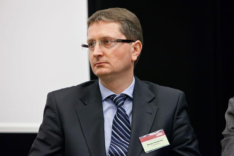 """Nerijus Rasburskis, """"Lietuvos energijos"""" Kogeneracinių jėgainių projektų tarnybos direktorius.  Ingos Juodytės nuotr."""