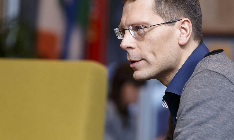"""Mindaugas Ardišauskas, """"VRP Hill+Knowlton Strategies"""" generalinis direktorius. Vladimiro Ivanovo (VŽ) nuotr."""