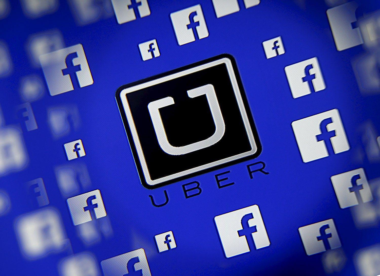 �Uber� sukirto rankomis su �Facebook�