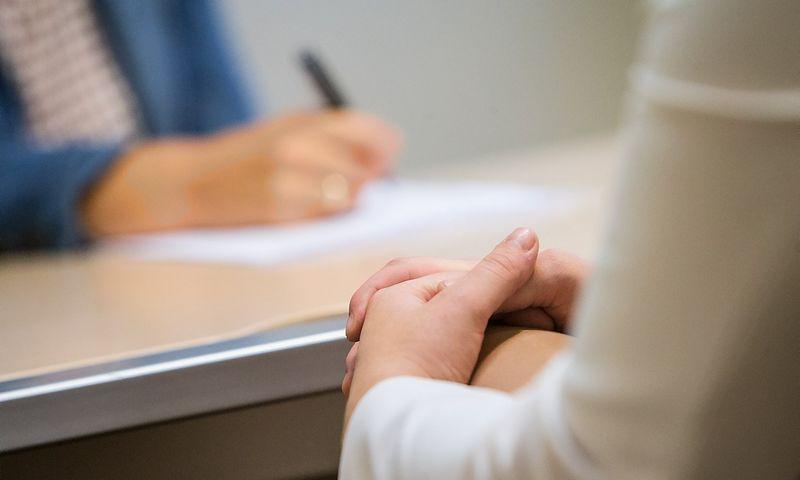 Pokalbis dėl darbo nėra egzaminas, suteikiantis galimybę pasistengti gerai atsakyti į kiekvieną užduodamą klausimą. JUDITOS GRIGELYTĖS NUOTR.