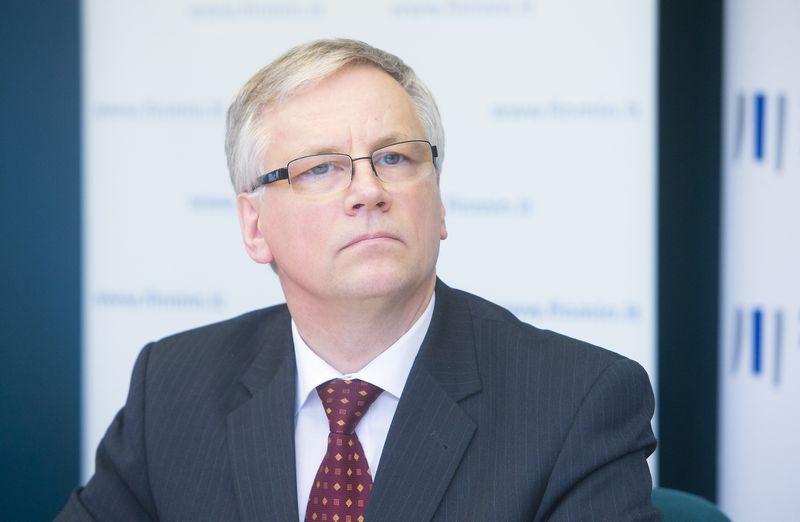 Rimantas Šadžius, finansų ministras. Juditos Grigelytės (VŽ) nuotr.