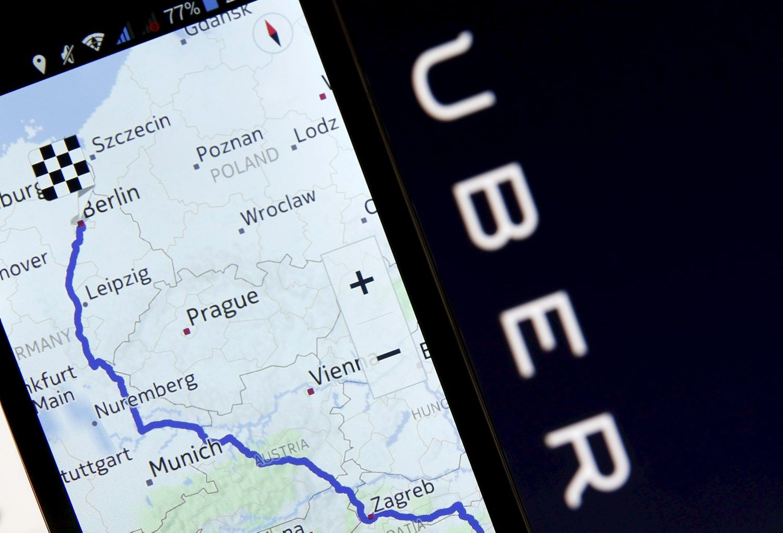 �Uber� Lietuvoje �k�r� dar vien� bendrov�