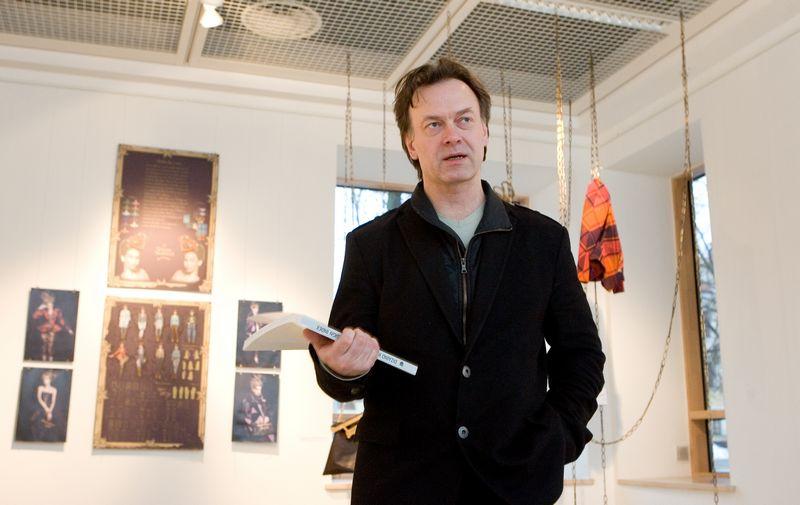 Dizaineris Tautvydas Kaltenis ketina toliau skųsti teismo nutartį dėl VCUP prekės ženklo autorystės. Juditos Grigelytės (VŽ) nuotr.