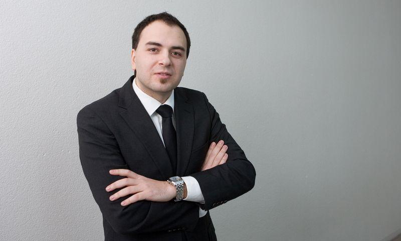"""Lukas Macijauskas, UAB """"Synergy Finance"""" investicijų strategas. Juditos Grigelytės (VŽ) nuotr."""