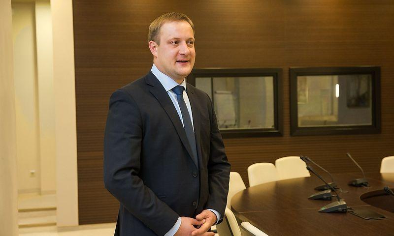 """Liudas Liutkevičius, AB """"Lietuvos dujos"""" generalinis direktorius ir valdybos pirmininkas, nuo sausio 1 d. vadovaus AB """"Energijos skirstymo operatorius"""". Juditos Grigelytės (VŽ) nuotr."""