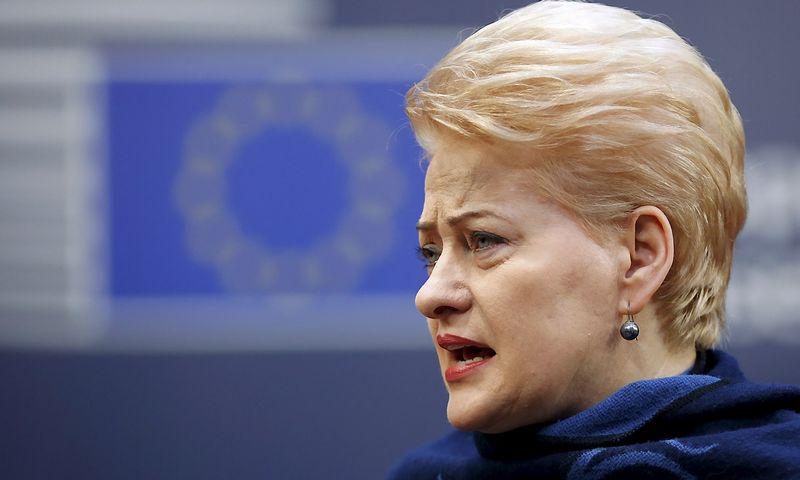 "Dalia Grybauskaitė. Francois Lenoir ""Reuters"" / ""Scanpix"" nuotr."