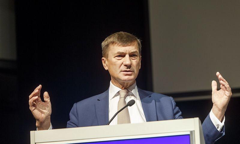 Vladimiro Ivanovo (VŽ) nuotr. Andrusas Ansipas, EK pirmininko pavaduotojas, atsakingas už bendrąją skaitmeninę rinką.