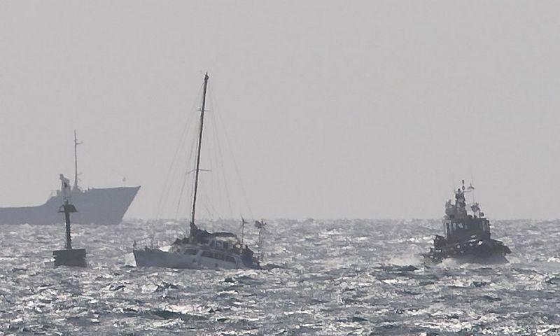 """Konfliktas kilo 2010 m., kai Izraelio laivynas atakavo Turkijos aktyvistų laivą. Amiro Coheno (""""Reuters"""" / """"Scanpix"""") nuotr."""