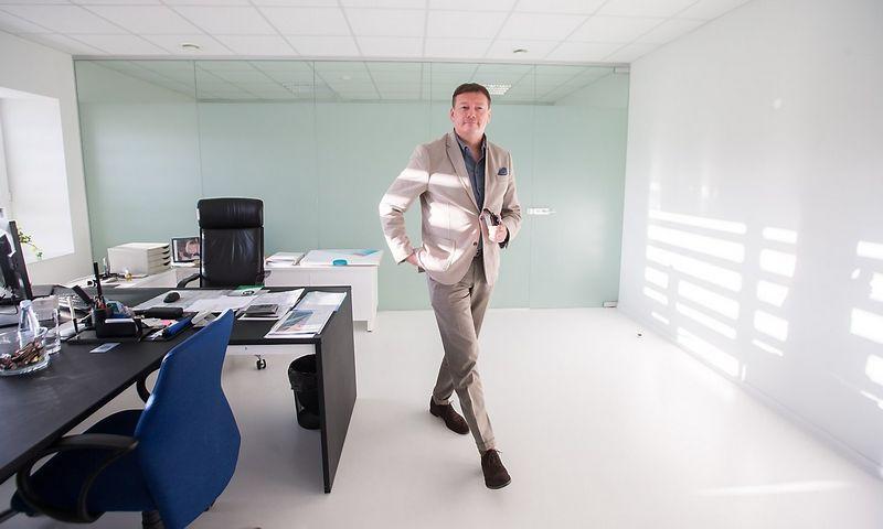 """Vidmantas Janulevičius, SIA """"Global BOD Group"""", valdančios """"BOD Group"""" aukštųjų technologijų įmones, valdybos pirmininkas. Juditos Grigelytės (VŽ) nuotr."""