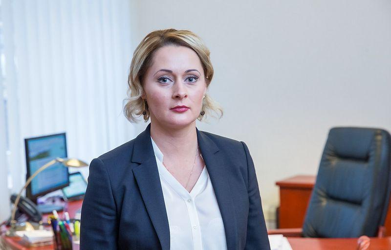 Daiva Gineikaitė, Nacionalinės žemės tarnybos direktorė. Juditos Grigelytės (VŽ) nuotr.