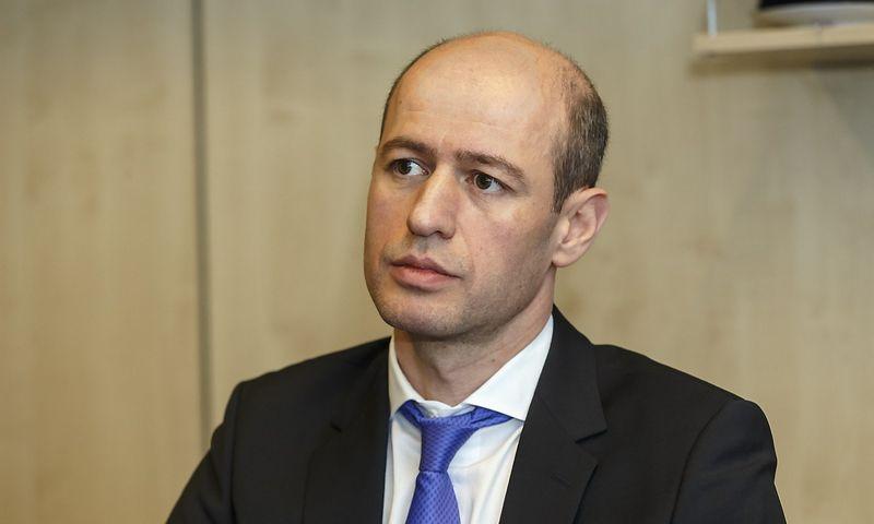 """Goča Tutberidzė, """"Meridian Trade bank"""" tarybos pirmininkas: """"Skandinaviški bankai nelabai linkę dirbti su projektais NVS rinkose, bet mes linkę, tai yra mūsų stiprybė."""" Vladimiro Ivanovo (VŽ) nuotr."""