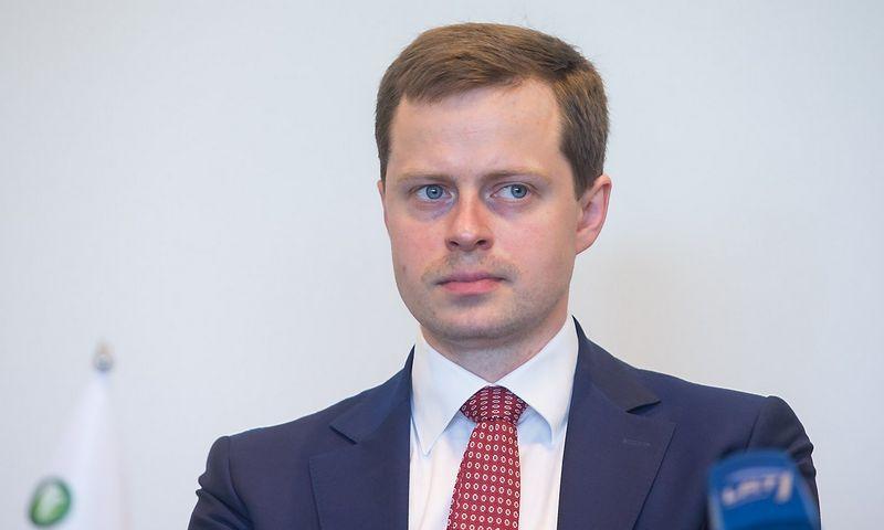 """Dominykas Tučkus, """"Litgas"""" generalinis direktorius. Juditos Grigelytės (VŽ) nuotr."""