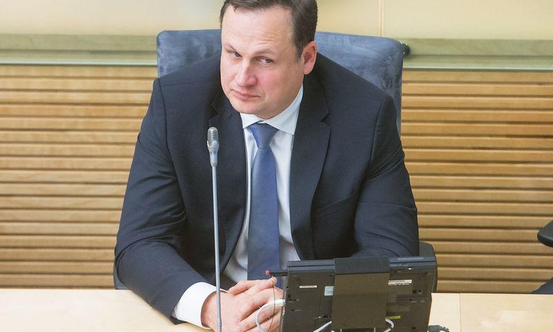 Evaldas Pašilis, generalinis prokuroras. Juditos Grigelytės (VŽ) nuotr.