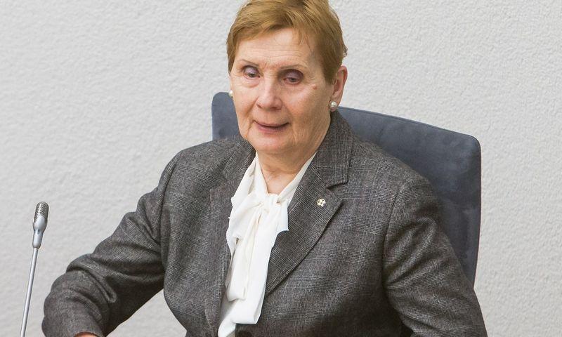 Gražina Drėmaitė, buvusi Valstybinės kultūros paveldo komisijos pirmininkė. Juditos Grigelytės (VŽ) nuotr.
