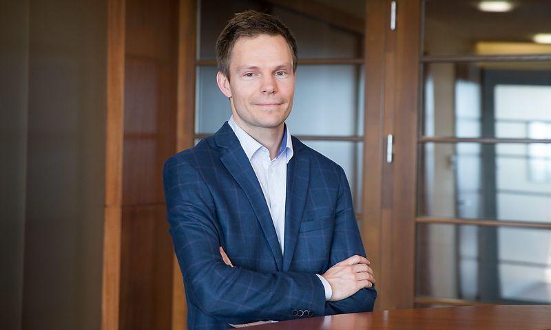 """Algimantas Laurinavičius, AB """"Hanner"""" finasnų direktorius. Juditos Grigelytės (VŽ) nuotr."""