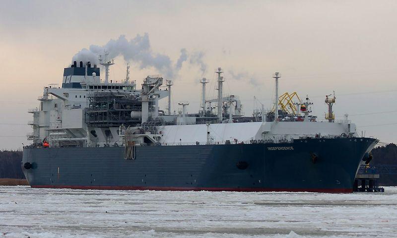 Lietuva minima tarp svarbių Jungtinėms Valstijoms dujų pirkėjų Europoje. Algimanto Kalvaičio nuotr.