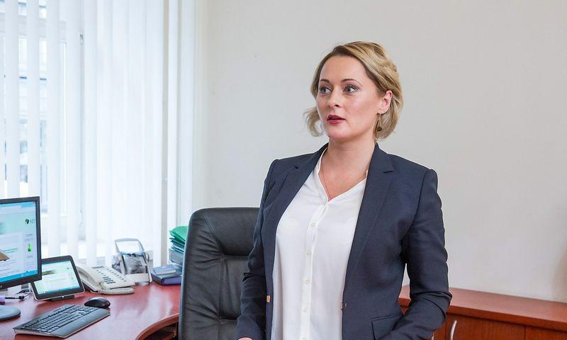 Daiva Gineikaitė, Nacionalinės žemės tarnybos (NŽT) direktorė. Juditos Grigelytės (VŽ) nuotr.