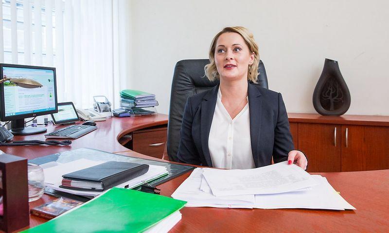 Daiva Gineikaitė, NŽT vadovė. Juditos Grigelytės (VŽ) nuotr.