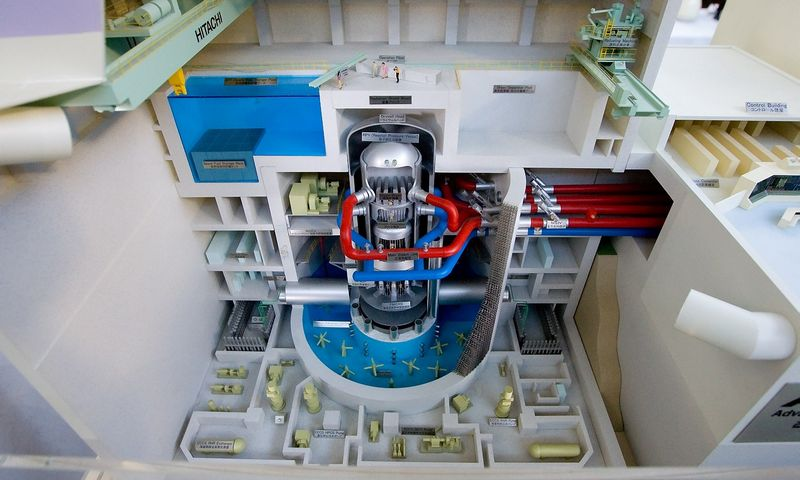 Visagino atominės elektrinės reaktoriaus maketas. Juditos Grigelytės (VŽ) nuotr.