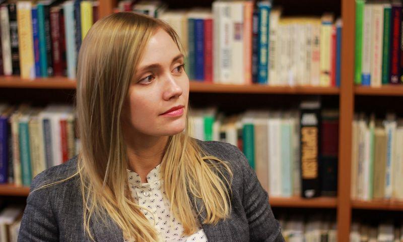 Julija Simionenko-Kovacs, Lietuvos laisvosios rinkos instituto analitikė. LLRI nuotr.