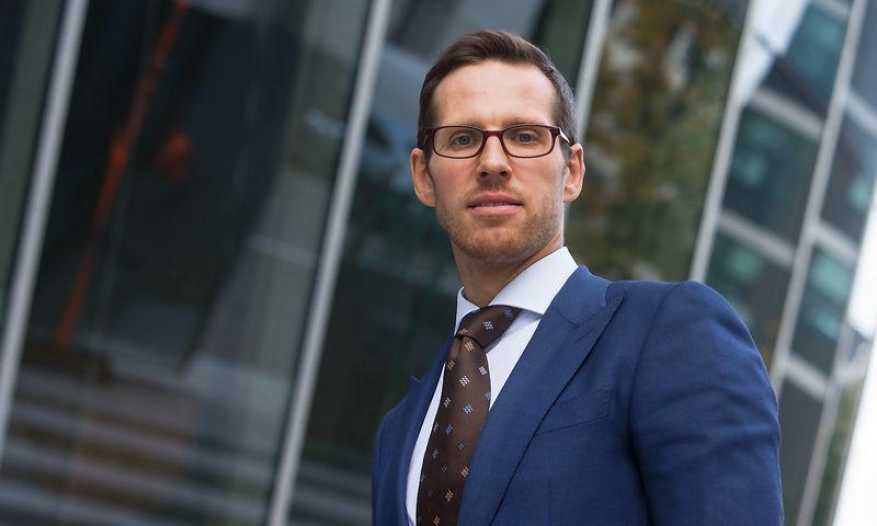 """Laurynas Vilimas, Lietuvos prekybos įmonių asociacijos vykdomasis direktorius: """"Lidl"""" įtaka mažmeninės prekybos sektoriui bus nepalyginamai didesnė nei IKEA ar H&M tinklų atėjimas į Lietuvą 2013-aisiais."""" Juditos Grigelytės (VŽ) nuotr."""