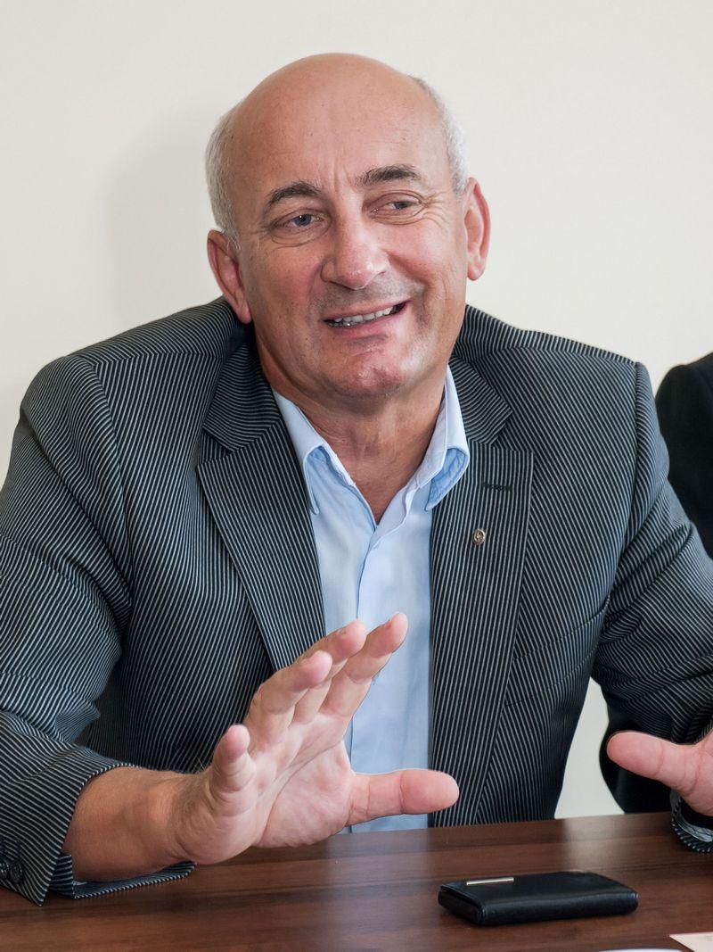 """Valdemaras Šalauskas, UAB """"Iceco"""" generalinis direktorius, teigia, kad reorganizuoti verslą skatino verslo partneriai ir bankai. KAZIMIERO LINKEVIČIAUS NUOTR."""