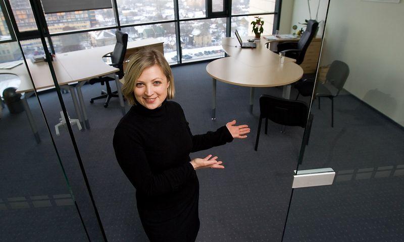 """Sandra Stankevičienė, """"TMD partners"""" konsultantė ir partnerė: """"Vertėtų atsisakyti metinių veiklos vertinimų, bet ne pokalbių"""". JUDITOS GRIGELYTĖS NUOTR."""