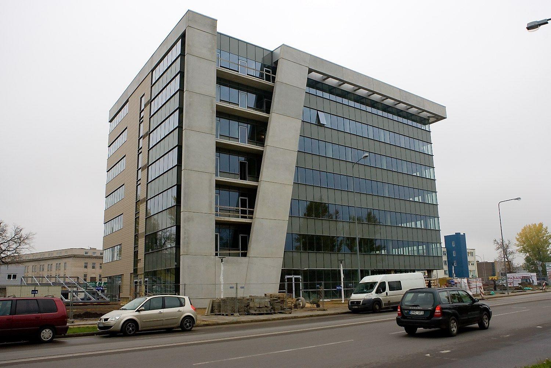 �Ulon� verslo centras� Vilniuje, Verki� g. 25C. Juditos Grigelyt�s (V�) nuotr.