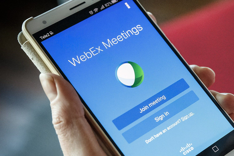 Savait�s program�l�: �Cisco WebEx Meetings�