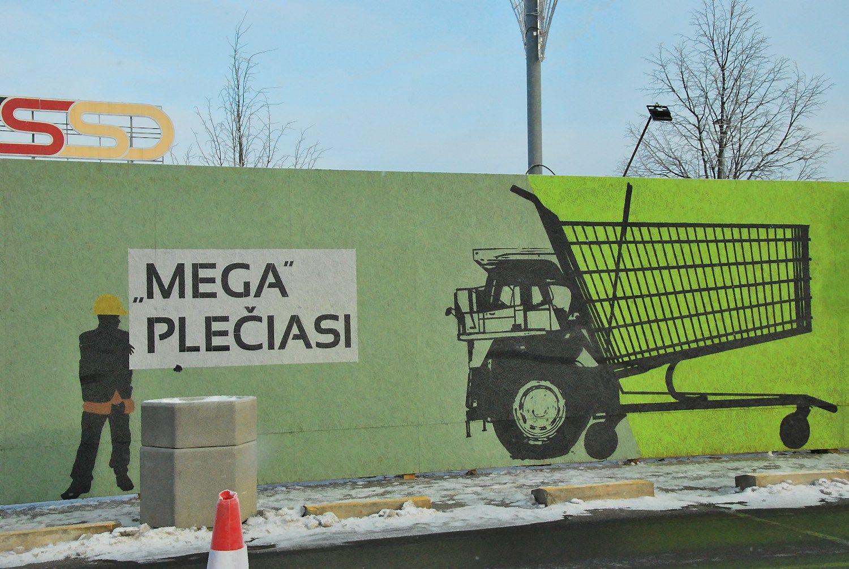�sib�g�ja 47 mln. Eur vert�s��Megos� rekonstrukcija