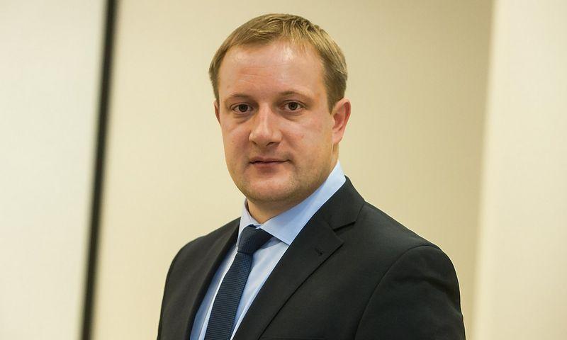 Liudas Liutkevičius, AB ESO vadovas. Juditos Grigelytės (VŽ) nuotr.