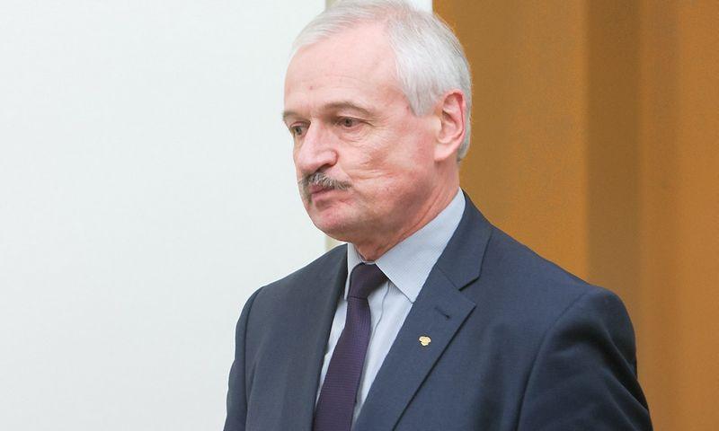 Evaldas Gustas, ūkio ministras. Juditos Grigelytės (VŽ) nuotr.