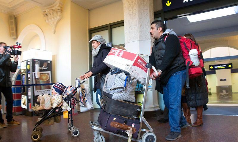 Į Lietuvą gruodį atvyko pirmieji pabėgėliai Irako.  Juditos Grigelytės (VŽ) nuotr.