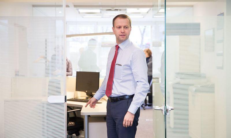 """Dalius Misiūnas, UAB """"Lietuvos energija"""", kurios antrinė įmonė yra """"Litgas"""", valdybos pirmininkas ir generalinis direktorius. Juditos Grigelytės (VŽ) nuotr."""