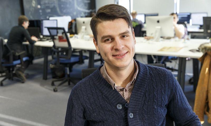 """Daumantas Dvilinskas, tarptautinių pinigų pervedimų bendrovės """"TransferGo"""" generalinis direktorius. Vladimiro Ivanovo (VŽ) nuotr."""