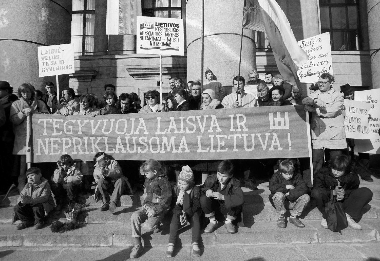 Pasaulio galingieji apie Lietuvos nepriklausomyb�