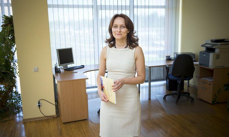 Daiva Čibirienė, Lietuvos buhalterių ir auditorių asociacijos prezidentė Juditos Grigelytės (VŽ) nuotr.