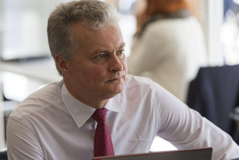 Gitanas Nausėda, SEB banko prezidento patarėjas. Vladimiro Ivanovo (VŽ) nuotr.