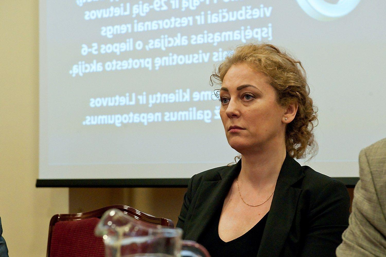 """Dalia Kuklierienė, viešbučio """"Romantic"""" savininkė. Herkaus Milaševičiaus nuotr."""