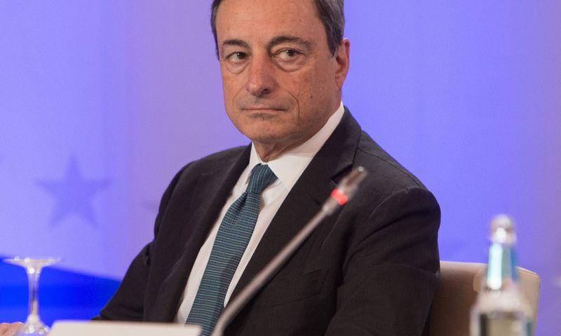 Mario Draghi, Europos centrinio banko (ECB) prezidentas. Juditos Grigelytės (VŽ) nuotr.
