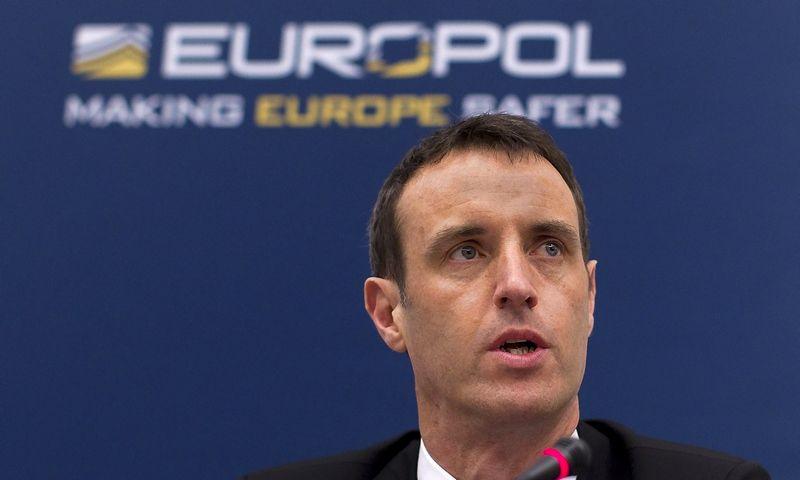 "Robas Wainwrightas, Europolo vadovas. Jerry Lampeno  (""Reuters"" / ""Scanpix"") nuotr."