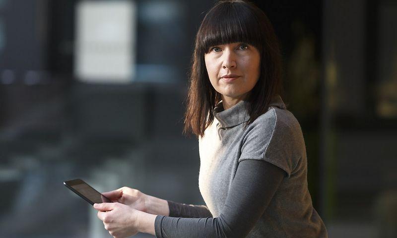 """Ramunė Norkutė, UAB """"TLV Labs"""" direktorė, sako, kad neįgaliesiems skirtą programinę įrangą galima nemokamai atsisiųsti iš bendrovės interneto svetainės. Vladimiro Ivanovo (VŽ) nuotr."""