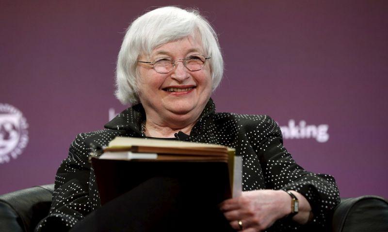 "Federalinio rezervo pirmininkė Janet Yellen. ""Reuters"" / ""Scanpix"" nuotr."