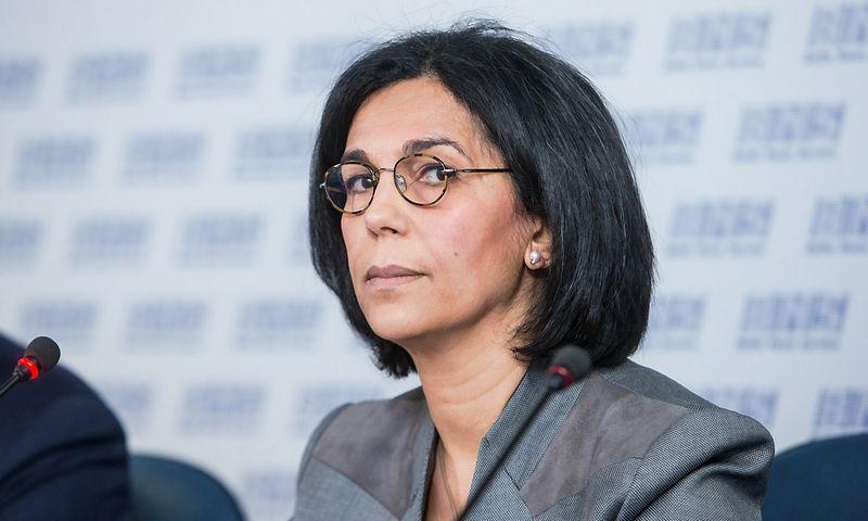 """Malika Ghendouri, """"Veolia"""" viceprezidentė Centrinei ir Rytų Europai. Juditos Grigelytės (VŽ) nuotr."""