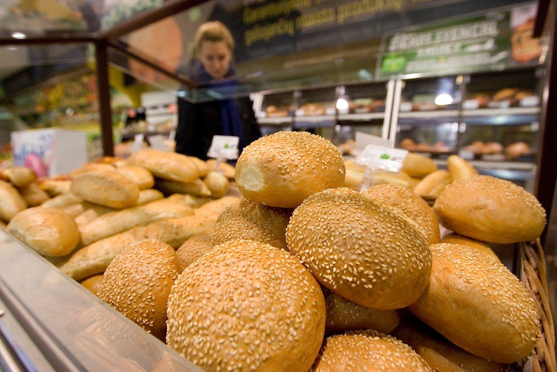 Duonos sektori� augins greitojo maisto restoranai